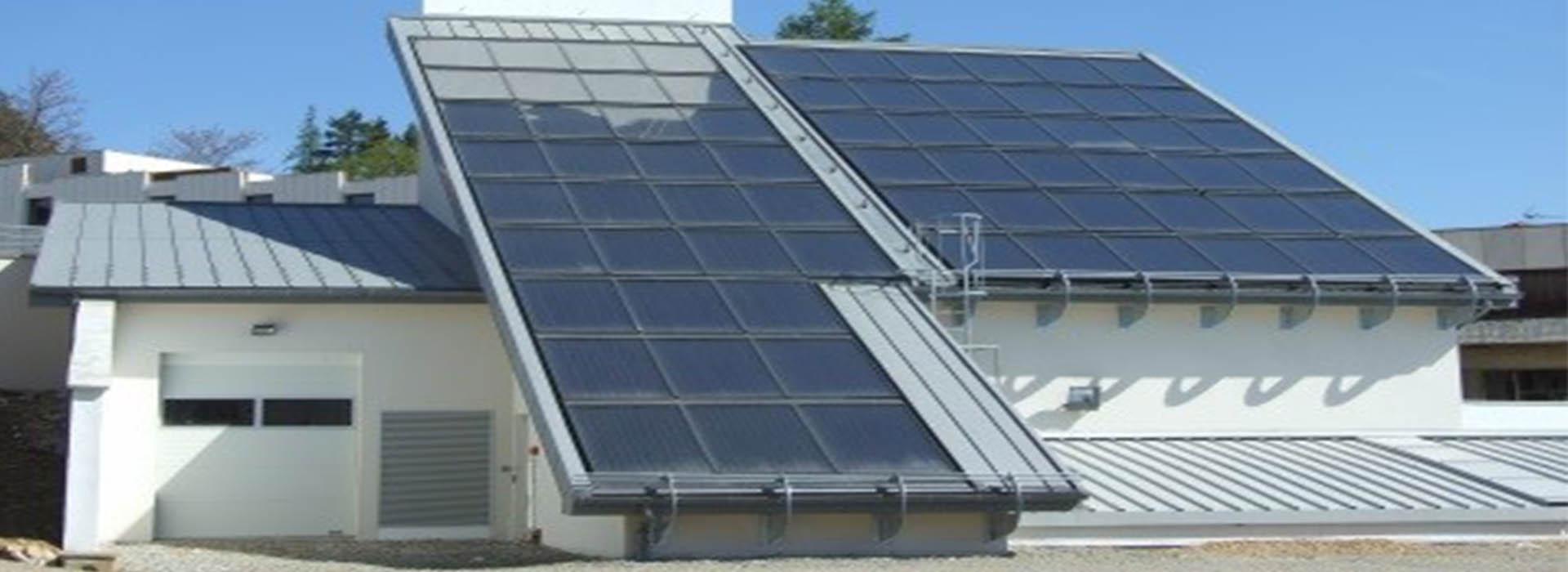 Construction d'une chaufferie bois avec réseau de chaleur et production d'eau chaude solaire pour le cem / crf Montrodat