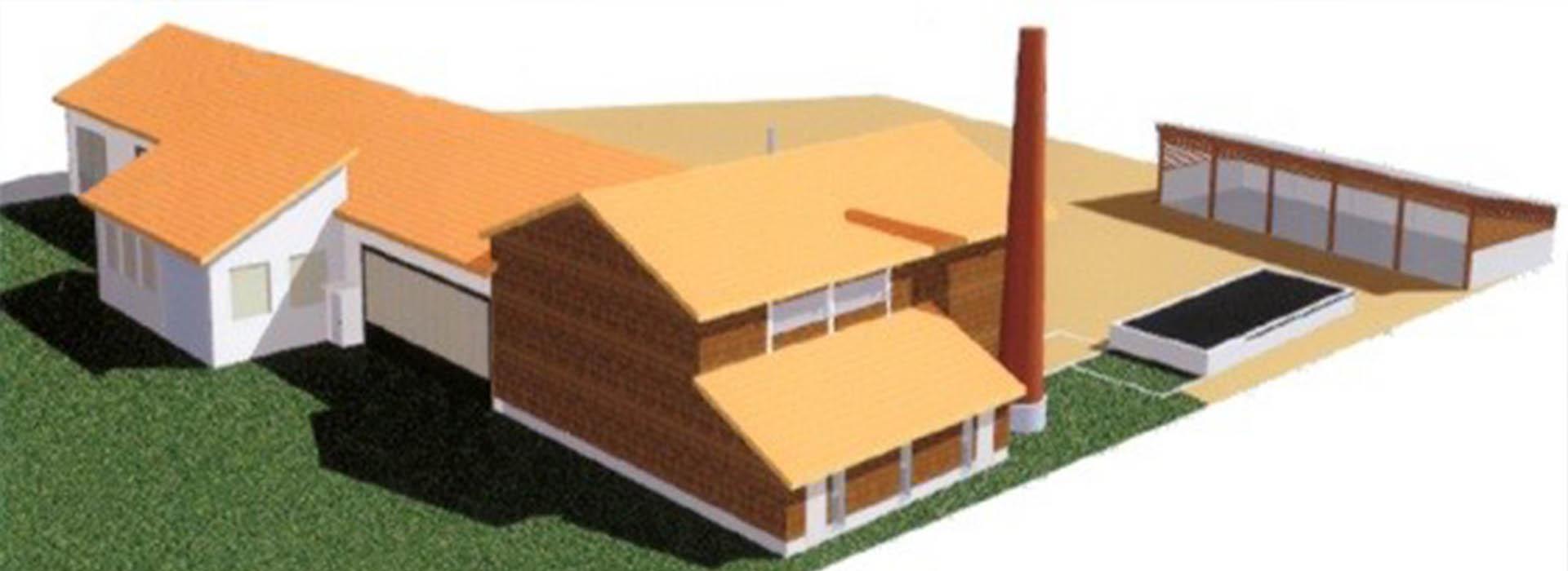 Rénovation et extension d'une chaufferie communale au bois avec réseau de chaleur à Tence